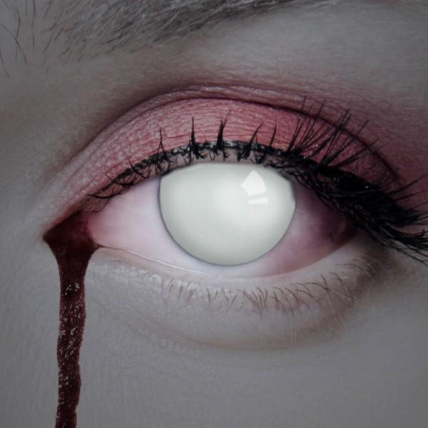 Aricona wei e kontaktlinsen spezial effekt blind deckend - Weisse wandfarbe deckend ...