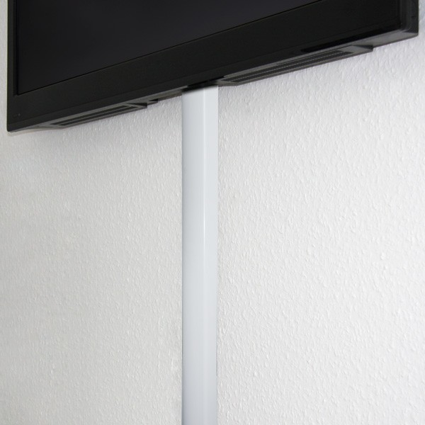 design wand alu kabelkanal in wei kabel kabelkan le. Black Bedroom Furniture Sets. Home Design Ideas