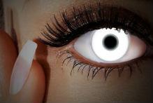 Weiße UV Kontaktlinsen