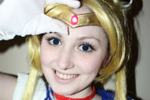 Vanessa als Sailor Moon